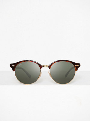 Solglasögon - Ray-Ban RB 4246 Clubround Brun