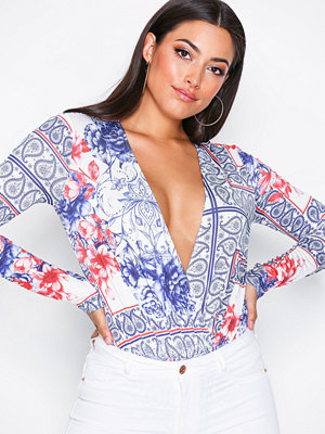 NLY One Plunge Print Body Print
