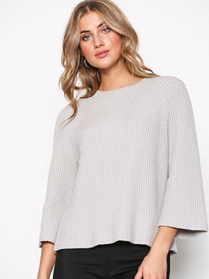 Filippa K Ribbed Cotton Sweater Grå
