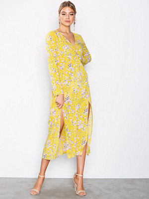Ax Paris Long Sleeve Dress Floral