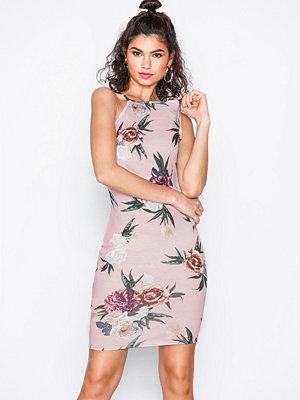 NLY Trend Print Neckline Dress Blommig