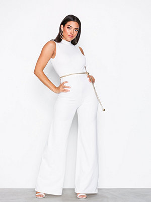 NLY One Exposed Back Jumpsuit Vit