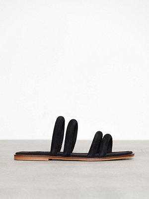 Topshop Fever Strappy Sandals Black