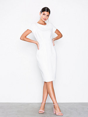 Closet Paneled Pencil Dress White