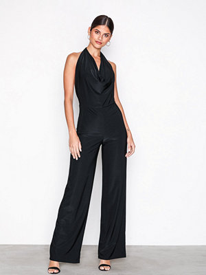 NLY One Double Layer Jumpsuit Svart