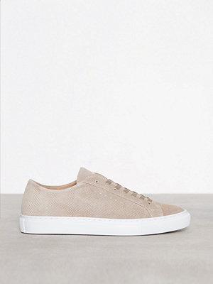 Filippa K Kate Suede Sneaker Stone