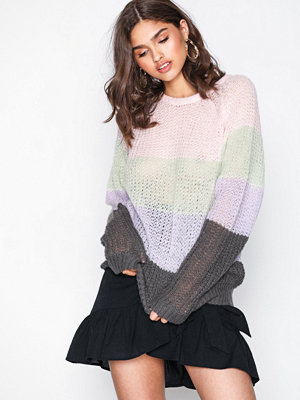 NLY Trend Light Hand Knit Randig