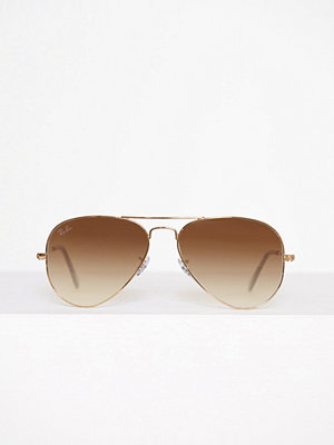 Solglasögon - Ray-Ban Aviator Large Metal 0RB3025 Brun