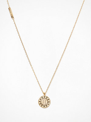 Marc Jacobs halsband Double Sided Pendant Guld