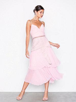 True Decadence Floral Lace Mini Dress