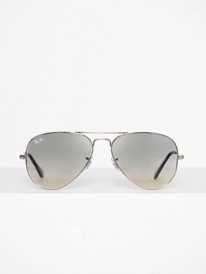 Solglasögon - Ray-Ban Aviator Large Metal 0RB3025 Grå