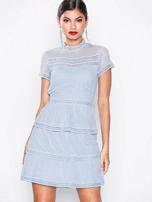 Neo Noir Veronica Dress Dusty Blue