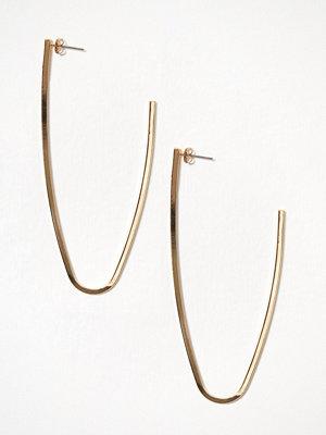 Vero Moda örhängen Vmfrida Large Creol Earrings Guld