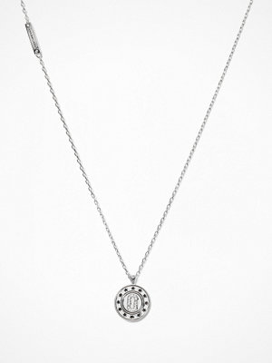 Marc Jacobs halsband Double Sided Pendant Silver