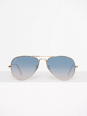Solglasögon - Ray-Ban Aviator Large Metal 0RB3025 Ljus Blå