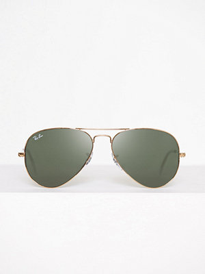Ray-Ban Aviator Large Metal Grön
