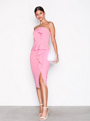 River Island SL Zaphira Dress Bright Pink