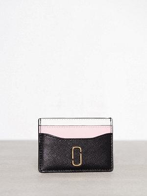 Plånböcker - Marc Jacobs Card Case Black/Pink