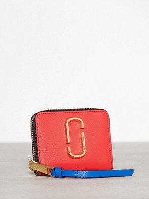 Marc Jacobs Mini Zip Card Case Poppy Red