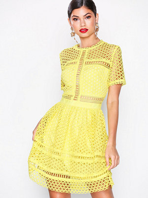 By Malina Emily dress Lemon