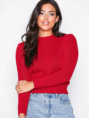 Polo Ralph Lauren Cropped Sweater Red