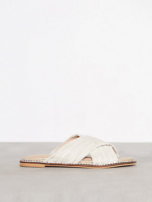 Topshop Hibiscus Espadrille Sandals Natural