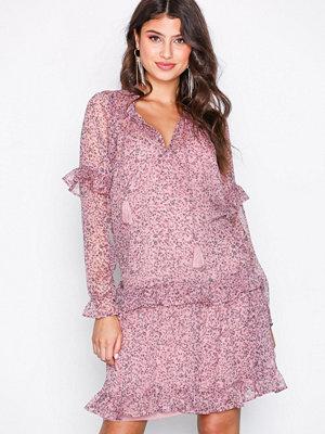 Neo Noir Abela Printed Dress Lavender