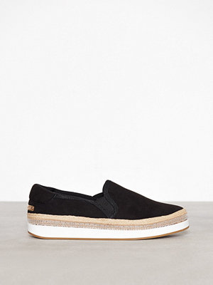 Tygskor & lågskor - River Island Pepper Slip On Black