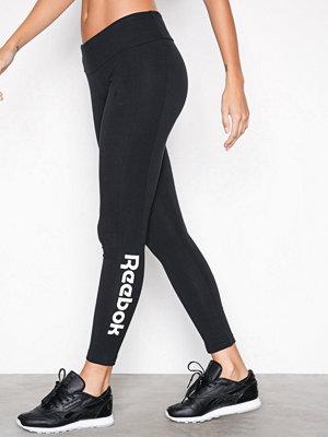 Sportkläder - Reebok Performance Logo Legging Svart
