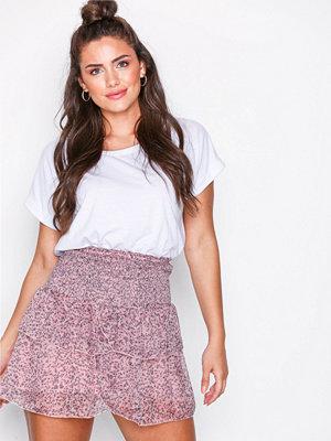 Neo Noir Carin Floral Skirt Lavender