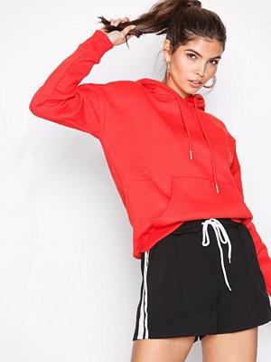 Shorts & kortbyxor - Missguided Side Stripe Runner Short Black/White