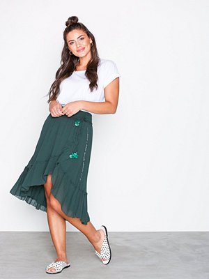 Odd Molly love crush skirt Dark Teal