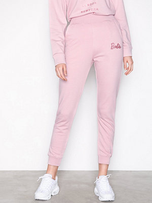 Missguided omönstrade byxor Barbie Joggers Pink