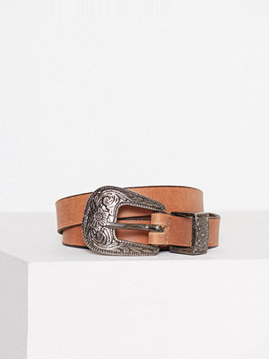 Only onlKISKA Long Leather Belt Acc