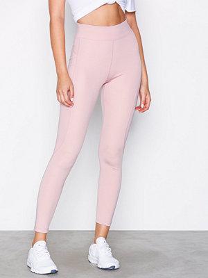Sportkläder - NLY SPORT High Waist Basic Tights Rosa