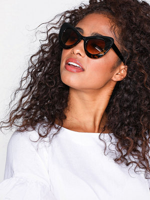 NLY Accessories Brille Sunglasses Brun