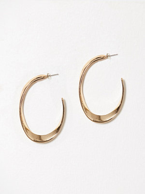 Vero Moda örhängen Vmtofe Big Creol Earrings Guld