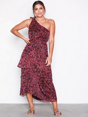 Neo Noir Romy Printed Dress Pink