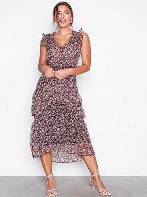 Neo Noir Selma Printed Dress