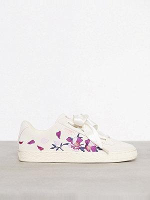 Puma Suede Heart Flowery Whisper White