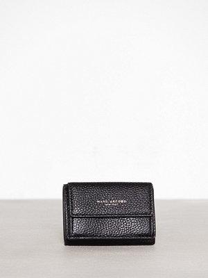 Plånböcker - Marc Jacobs Mini Trifold Black/Gold