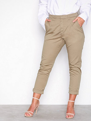 Hope omönstrade byxor News Trouser Khaki