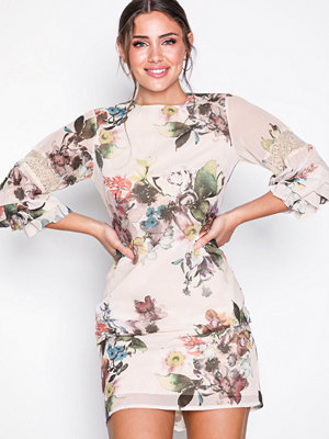 Little Mistress Floral Midi Dress Multi