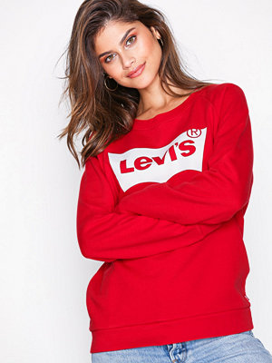 Levi's Relaxed Graphic Crew Bett Red