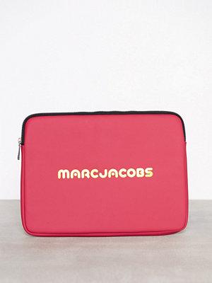 Marc Jacobs 13'' Computer Case Rosa datorväska med tryck