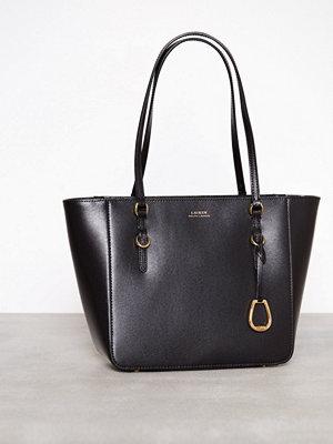 Handväskor - Lauren Ralph Lauren Medium Shopper Svart