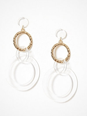 NLY Accessories örhängen Hoop Drop Earrings