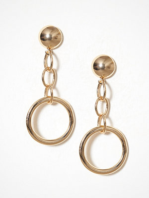 NLY Accessories örhängen Circle Chain Earrings