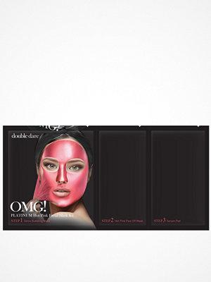 Ansikte - OMG! Platinum Facial Mask Kit Rosa