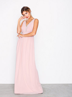 TFNC Sallie Maxi Dress Pearl Pink